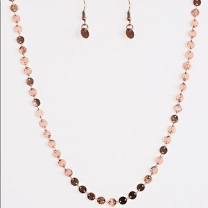 Bright on The SPOTLIGHT Copper Necklace